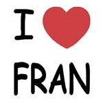 I heart fran