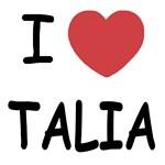 I heart talia
