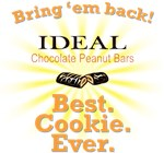 IDEAL Chocolate Peanut Cookie Bar