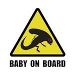 Alien Baby On Board