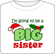 Future Big Sister - Christmas