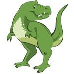 Cute Tyrannosaurus Rex