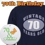 70th Birthday Gag Gifts