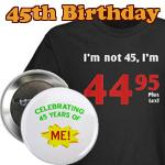 Gag Gifts For 45th Birthday