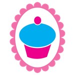 Cue simple cupcake on a cameo