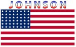 Johnson USA United States American Flag