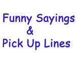 Funny Sayings/Pick Up Lines