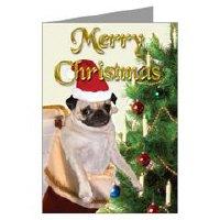 Pugaholic Greeting Cards