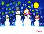 Hikaru's Snow Family