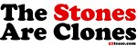 The Stones Are Clones t-shirts and stickers