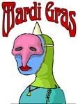 MArdi Gras Masker