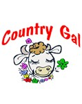 Country Girl Cow