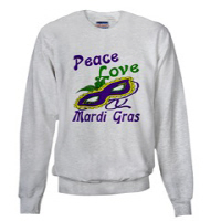 Mardi Gras Sweatshirts