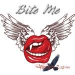 Bite me The Vampire Diaries Vampkiss Wings