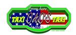 Dads Taxi Design USA Flag colors