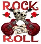 Rock N' Roll 4 Ever Rose Leafs