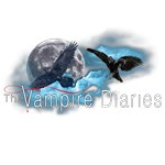 The Vampire Diaries Raven Moon Blue Clouds Center