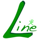 Line Dance Handwritten Green