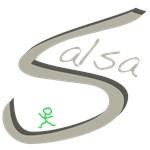 Salsa Dance Handwritten Gray