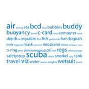 Scuba Tag Cloud