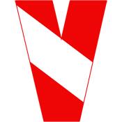 Scuba Flag Letter V