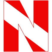 Scuba Flag Letter N