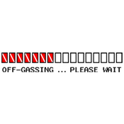 Off-Gassing ... (Dive Flag)