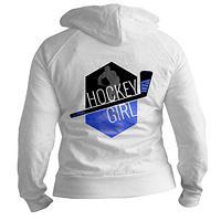 Hockey Girl (Blue)