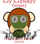 My Monkey Thinks Intelligent Design Stinks