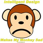 Intelligent Design Makes My Monkey Sad