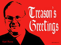 Treason's Greetings (Christmas Red)