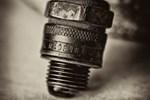 Vintage Motorcycle Sparkplugs