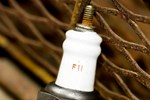 Rusty Broken Sparkplug