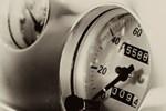 Vintage Auto Speedometer