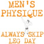 Men's Physique Always Skip Leg Day!