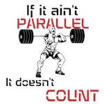 If it ain't parallel then it doesn't COUNT