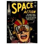 Vintage Comics Art