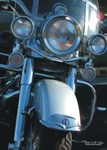 H3189 Motorcycle Watercolor