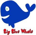 Big Cute Blue Whale