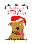 Christmas is Merrier with a Pit Bull 