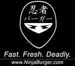 Ninja Burger Kanji