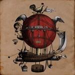 Victorian sci fi balloon coloured