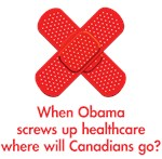 When Obama screws up healthcare, where will the...