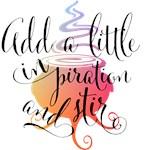 Add a little inspiration and stir