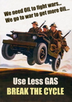 We Go To War For Oil... We Need Oil To Go To War.