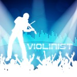 Violinist Equalizer Background