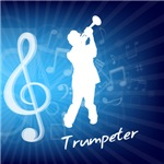 Treble Clef Trumpeter