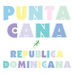 Punta Cana Island Colors Block