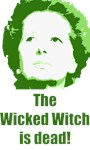 Wicked Witch is Dead (green)