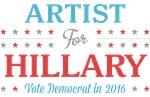 Artist for Hillary